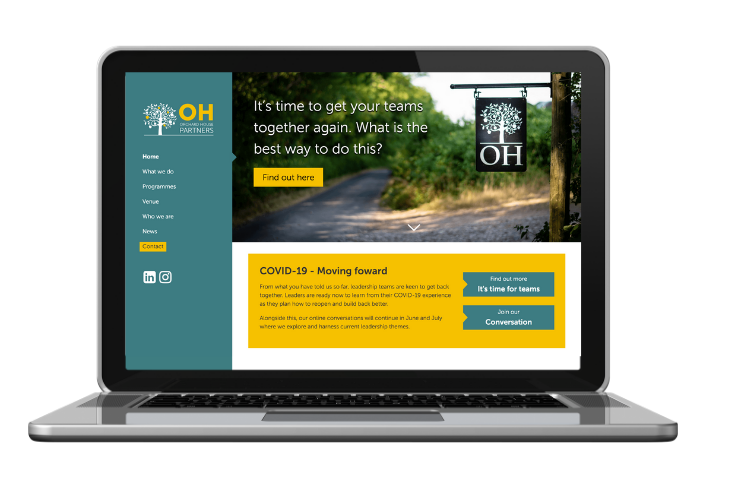 Orchard House Partners Website