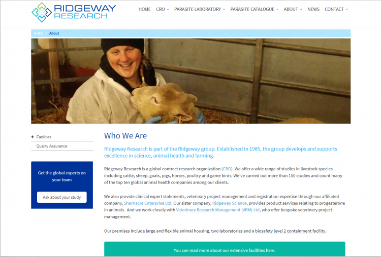 Ridgeway Research Who we are